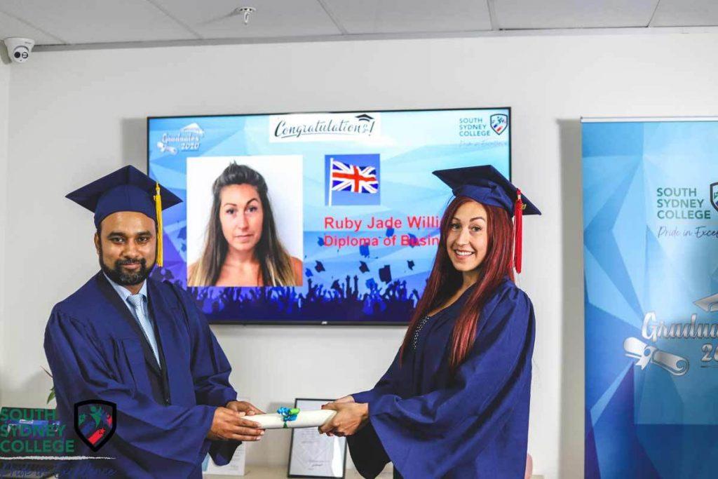 South Sydney College Student Graduation